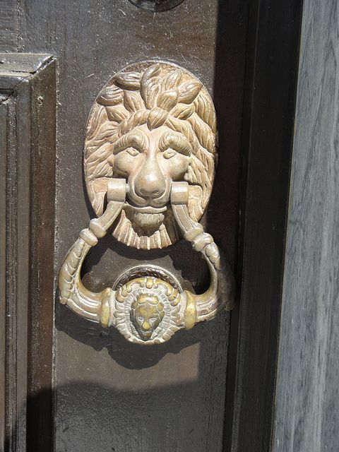 Cool Door Knocker By AbbieT, Via Flickr