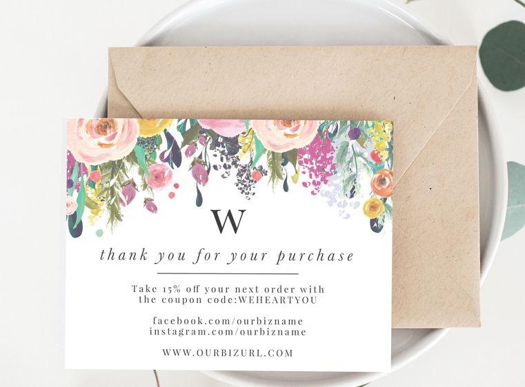 Самому, открытка с благодарностью клиенту