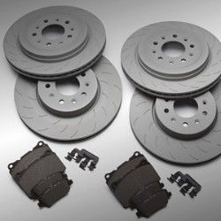 PERFORMANCE BRAKE ROTORS AND PADS - GM (23495615) - Cadillac