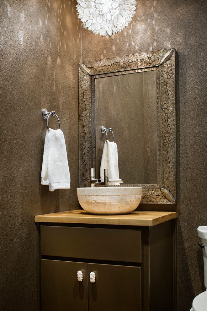 Pin by DB on Bathroom ideas Powder room vanity, White