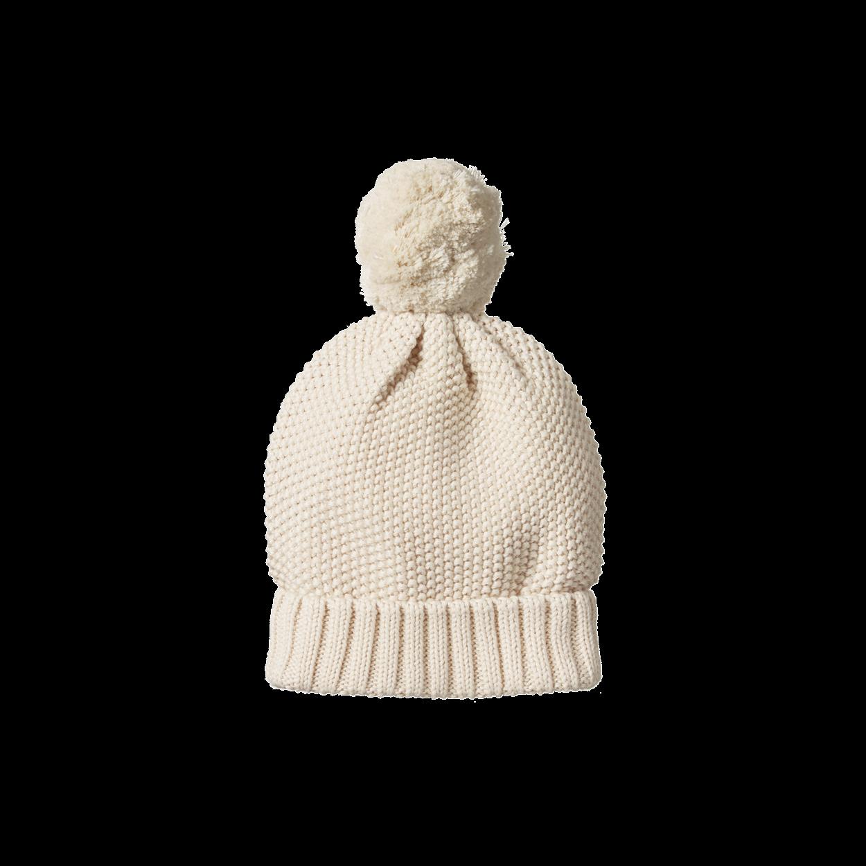 886969e9b Ahoy Pom Pom Beanie | B a b y | Beanie, Knitted hats, Organic cotton ...