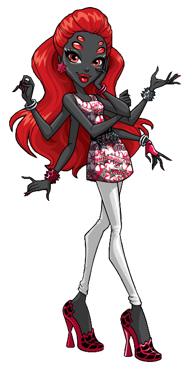 Wydowna Spider. Power Ghouls. Webarella | Monster High/Ever After ...