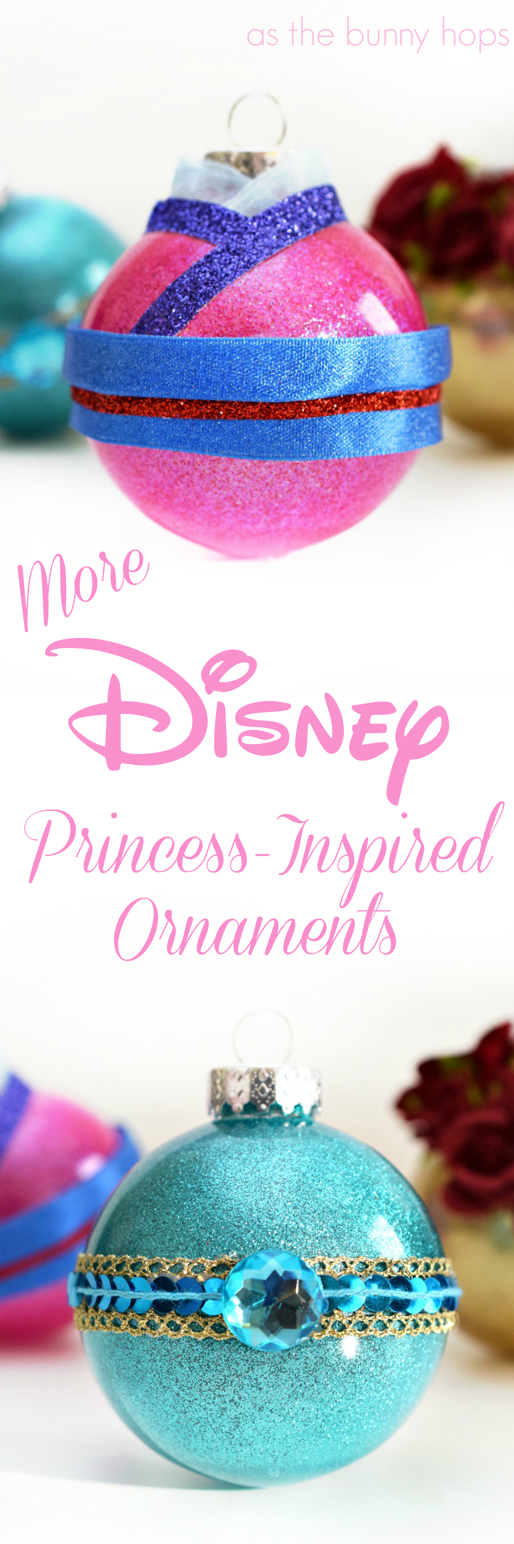 More Disney Princessinspired Christmas Ornaments