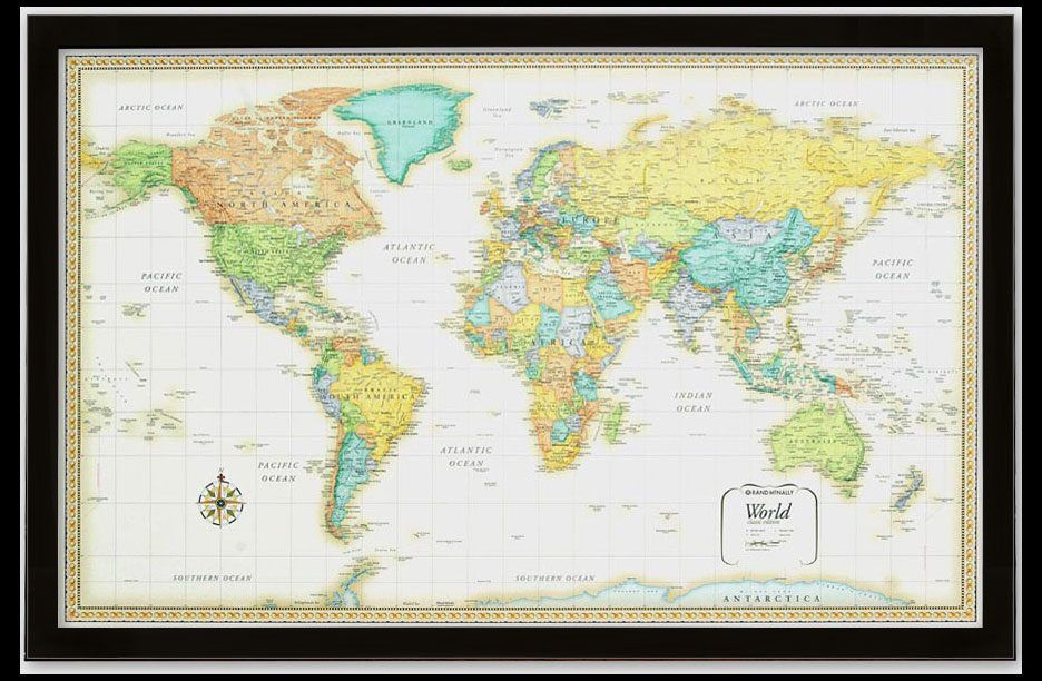 Classic Rand World framed close-up zoom | Office | Pinterest