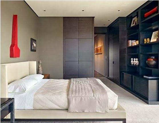 20 ideas de dormitorios para hombres solteros cuarto