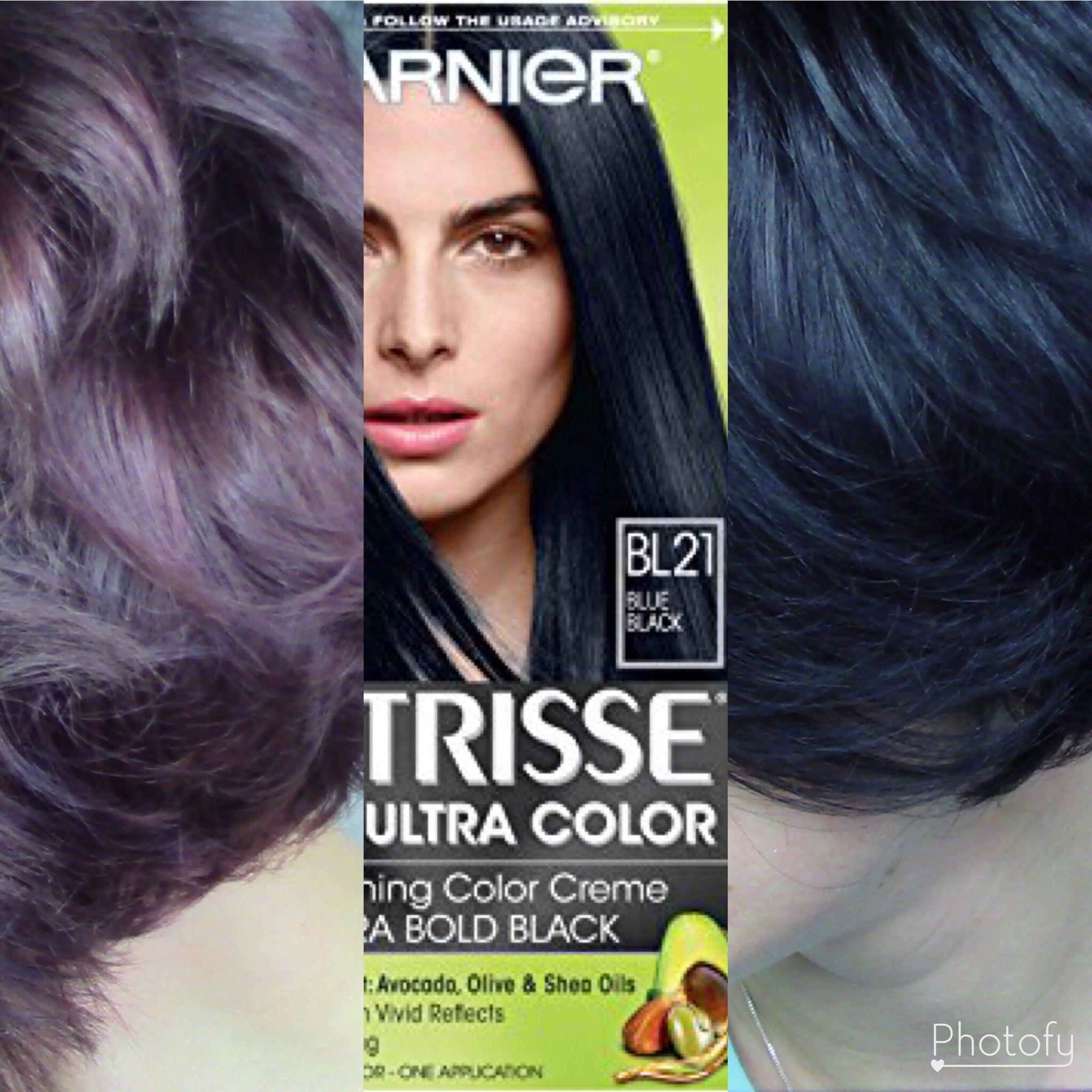 Hair Dye Demo Burgundy To Blue Black Youtuber Jennodonnell