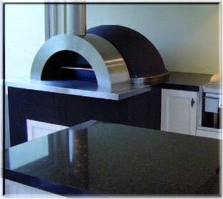 kitchen stainless steel wood burning oven | ... recent hit reality TV show have endorsed Zesti Woodfired Pizza Ovens