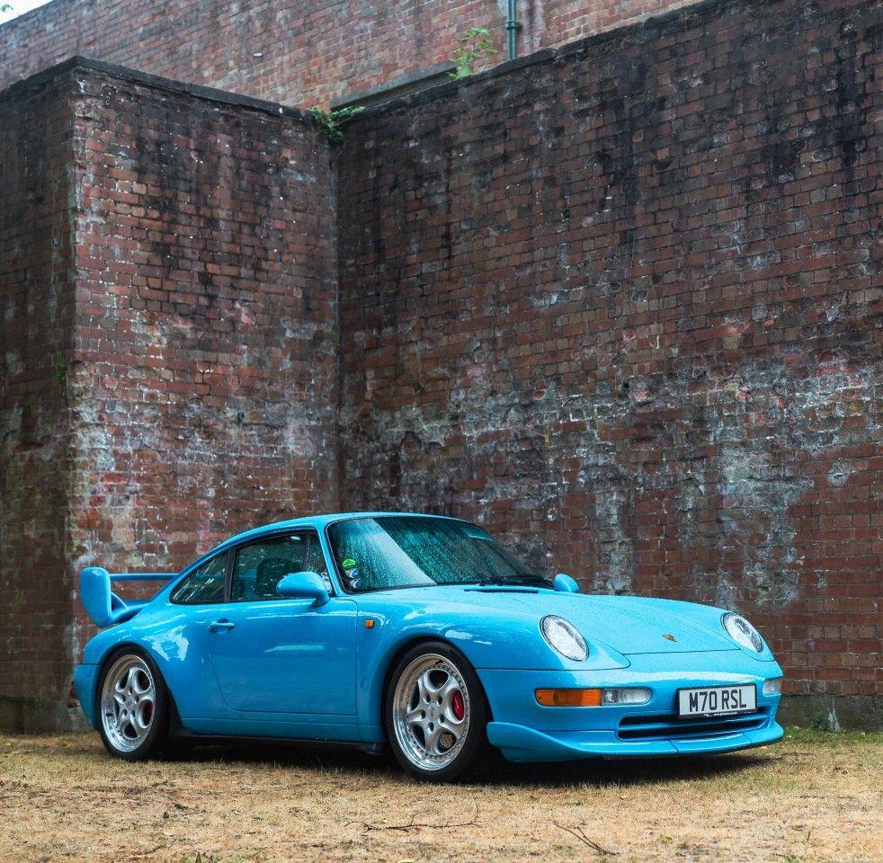 Baby Blue Porsche 993 Rs Clubsport Bicester Heritage Classic Porsche Porsche 993 Porsche
