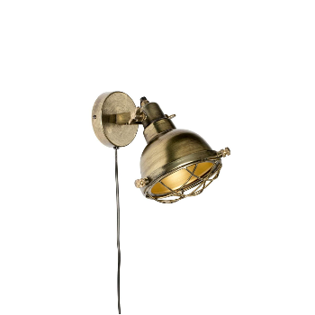 Zuiver Brass Wall Lamp - Trouva