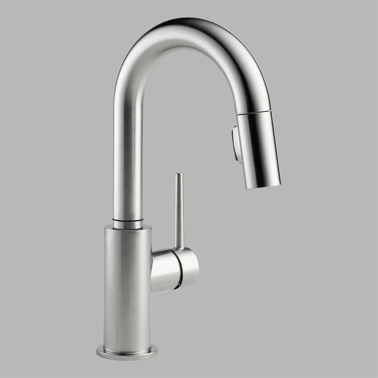 Delta 9959 Ar Dst Trinsic Single Handle Pull Down Bar Prep Faucet In