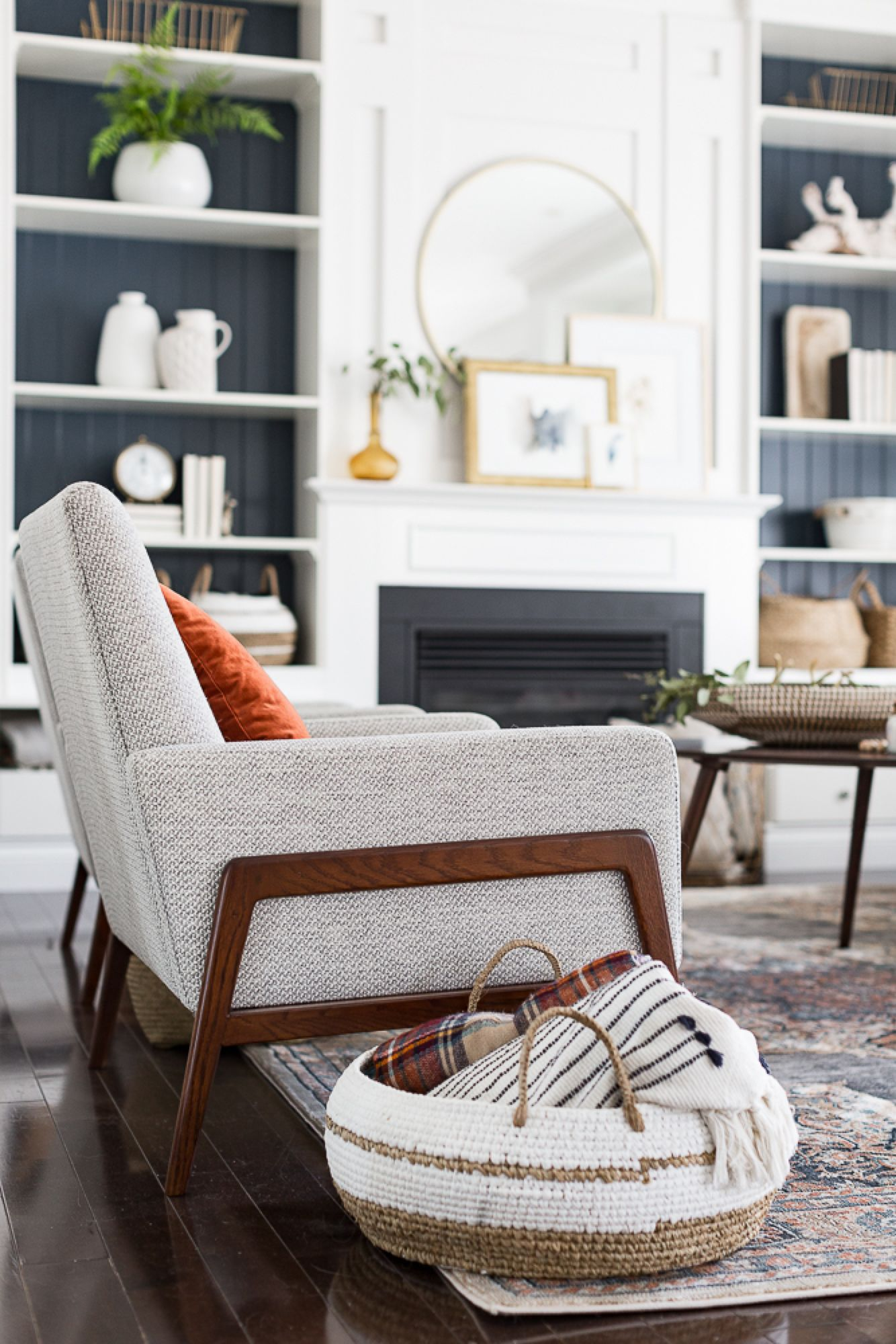 Modern fall living room decor gambang home in living room