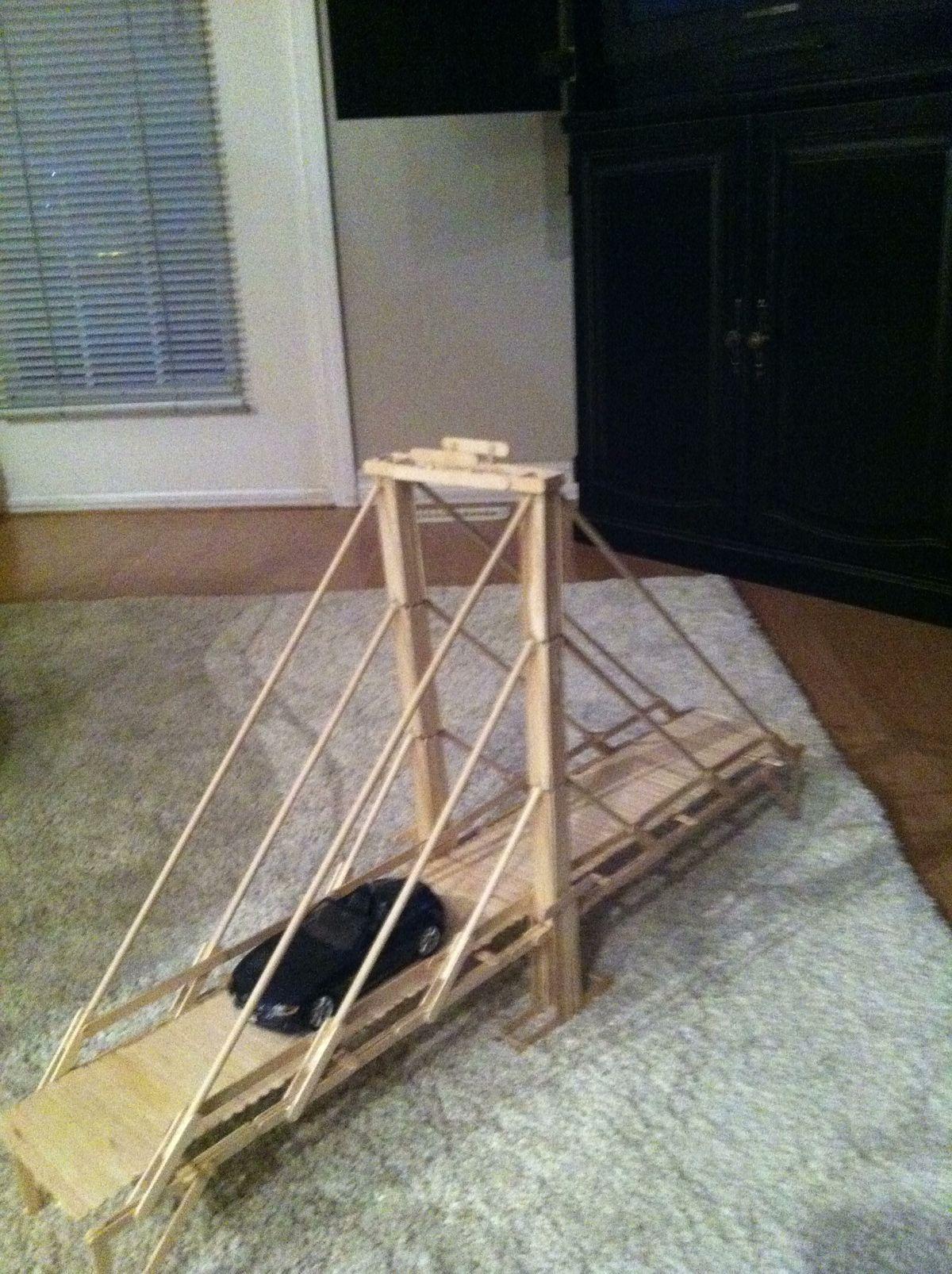 how to build the brooklyn bridge model
