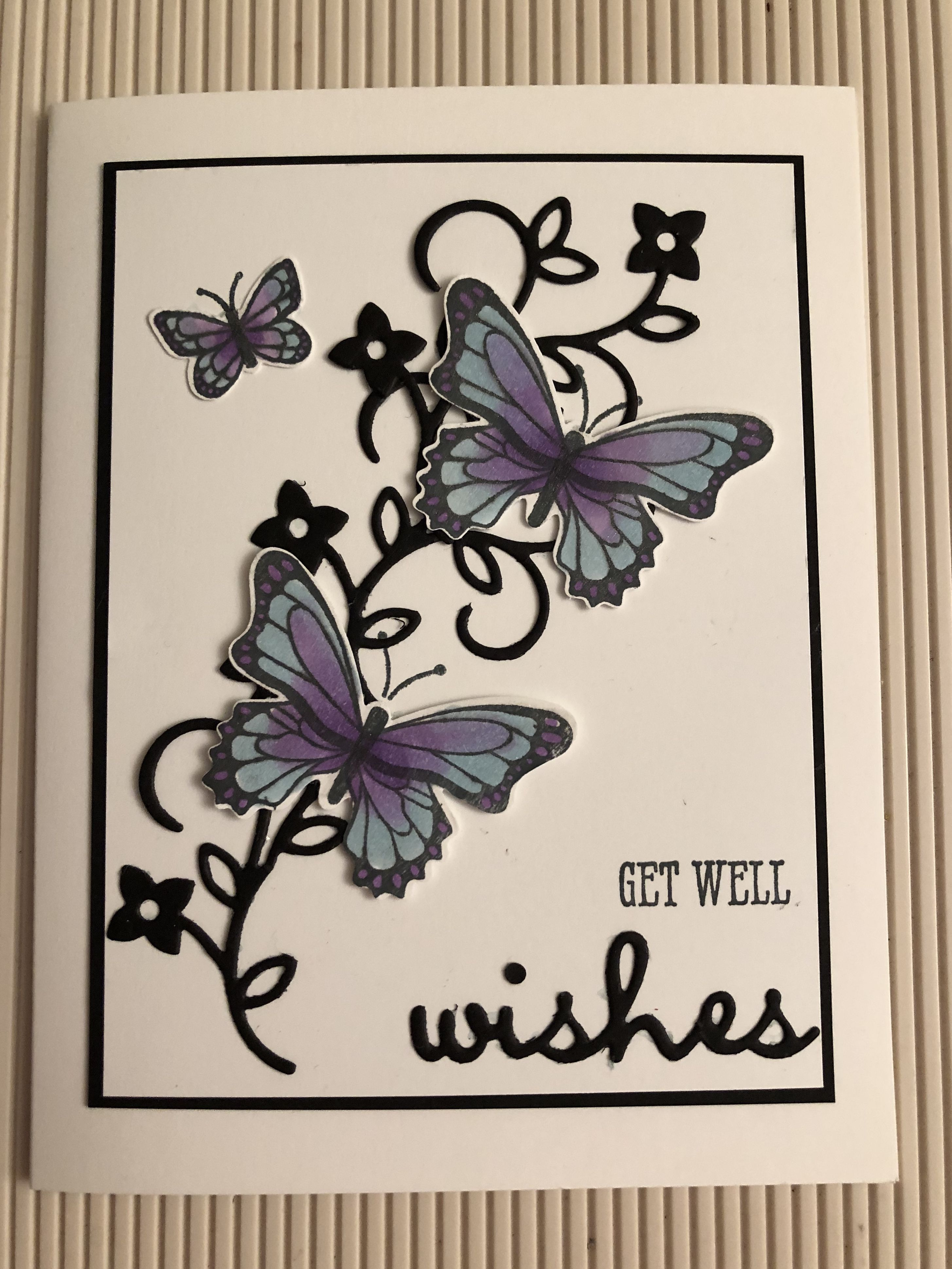 Well Said Get well wishes, Stampin up, Cards