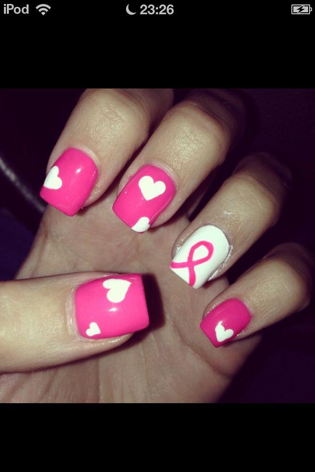 Cancer nail art