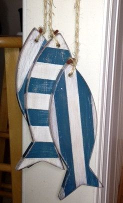 RUSTIC WOODEN ANCHOR HANGING DECORATION SASS /& BELLE WOODEN NAUTICAL CHIC RUSTIC