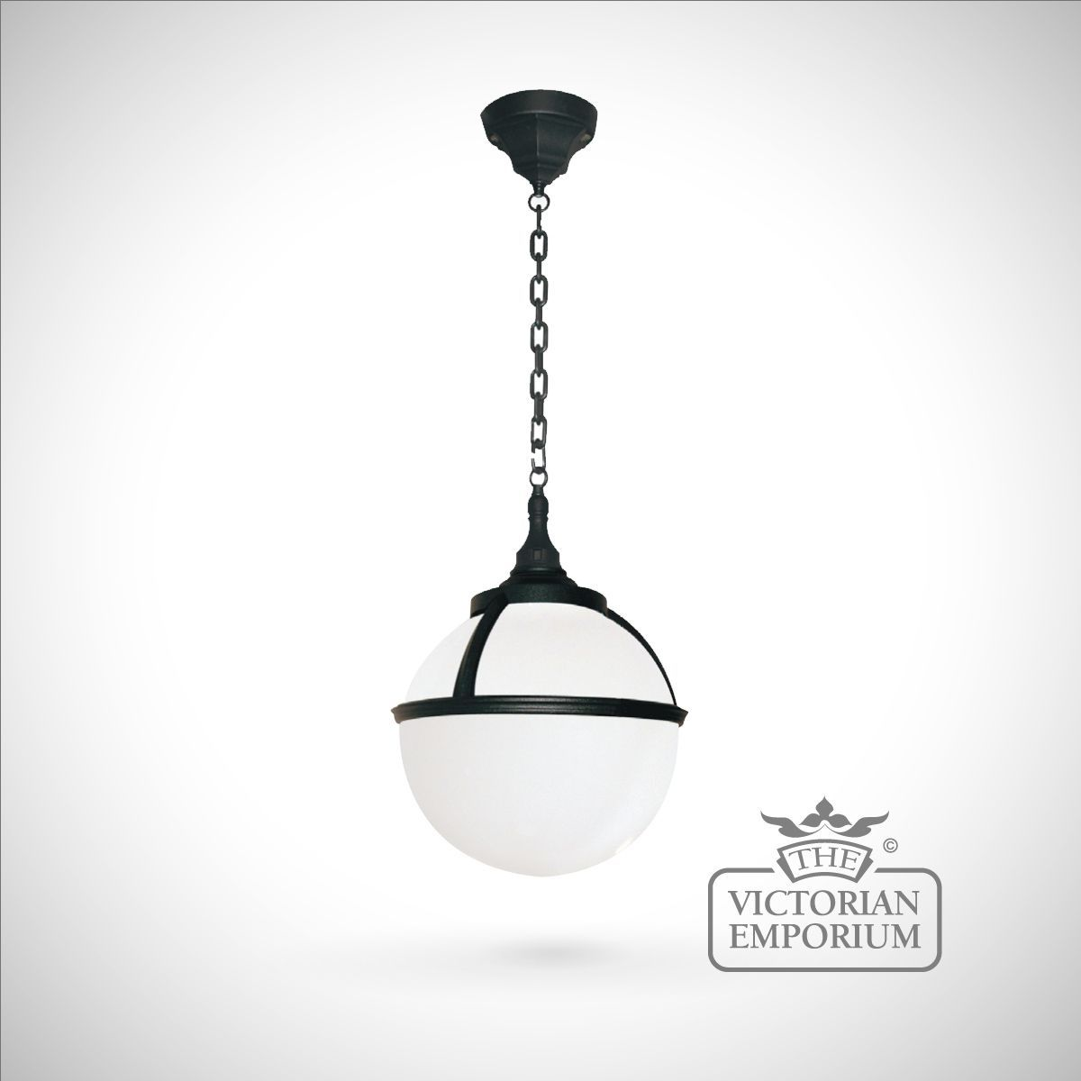 Buy globe chain lantern exterior ceiling lights spherical buy globe chain lantern exterior ceiling lights spherical outdoor hanging light with opaque shade aloadofball Choice Image