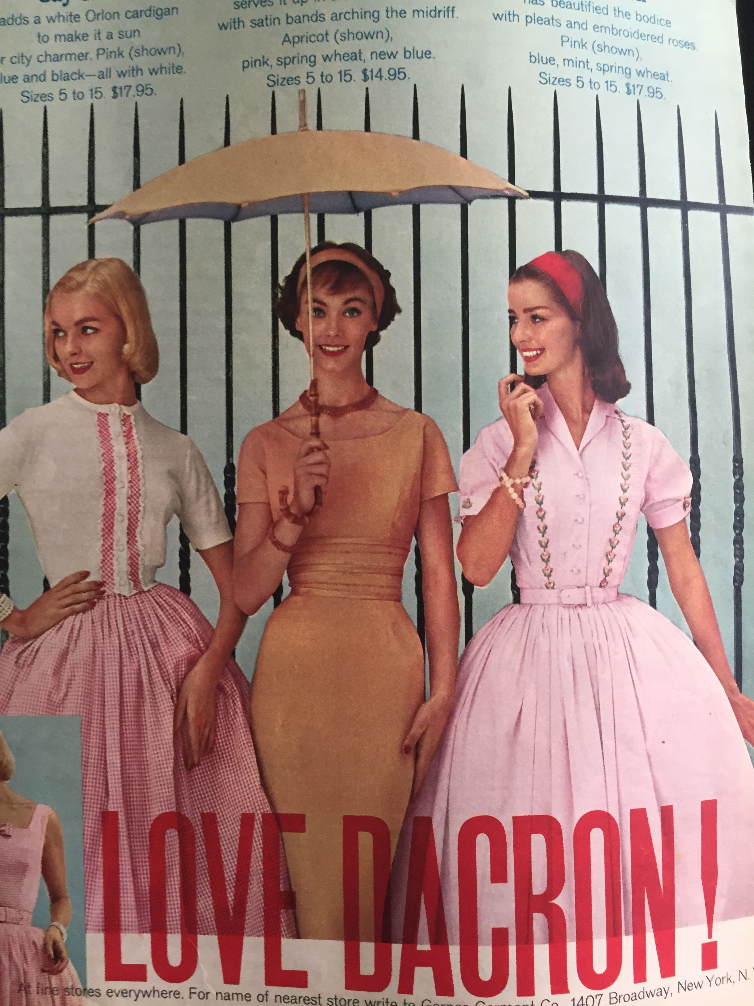 Gay Gibson BrownTanOrange 70s Dress