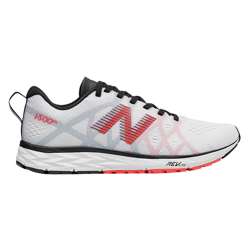 New Balance Women's 1500v4 Running Shoes - White/Black ...