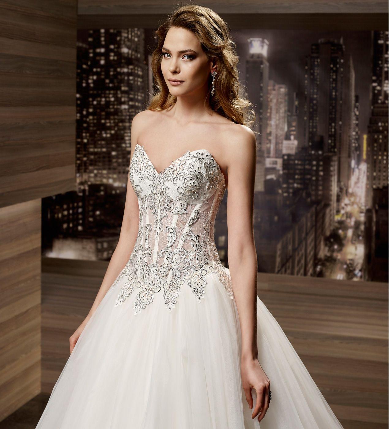 Wedding Dress Romance  ROAB16872 2016