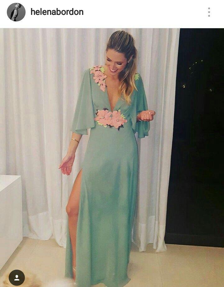 Vestidos verde agua para bodas