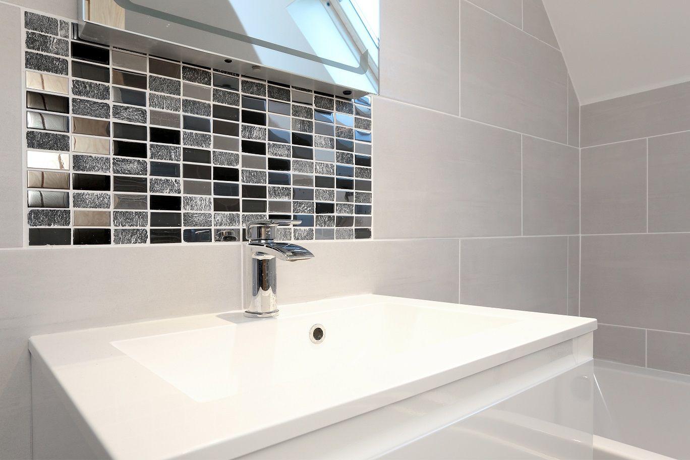 Self-build project, Aircrete, home, bathroom