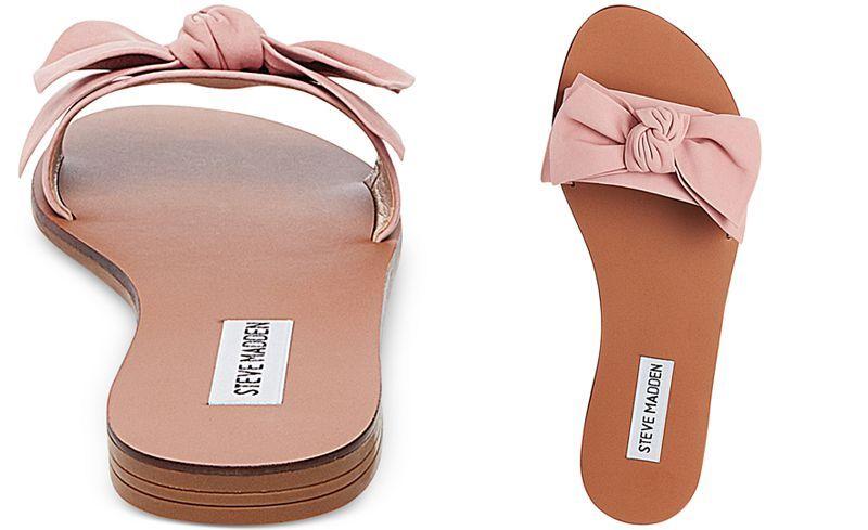 14c0c5d57fd169 Steve Madden Women s Knotss Bow Sandals - Sandals - Shoes - Macy s ...