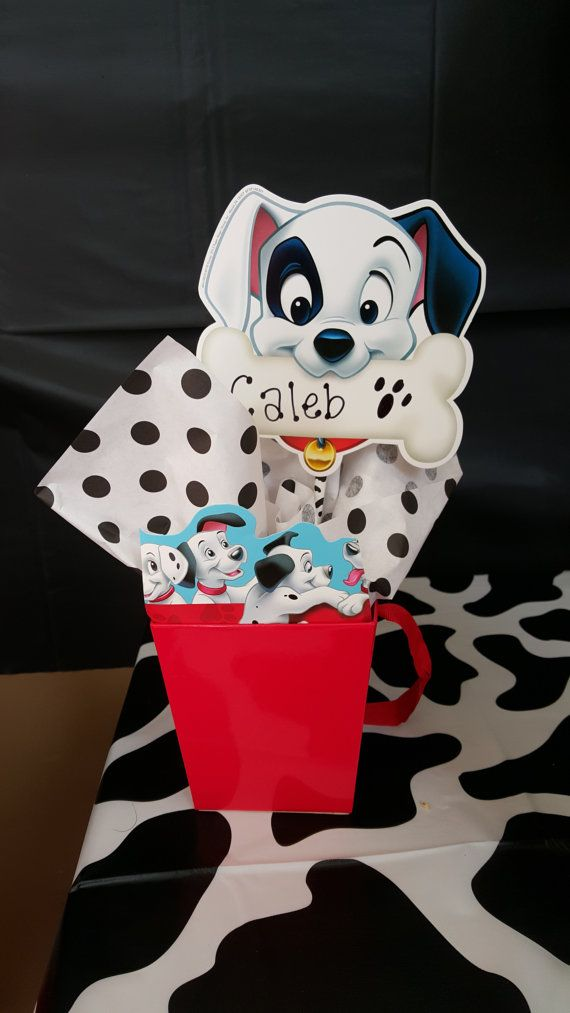 101 Dalmatians Themed Party Favor Boxed By Jellybeanbykelly Dalmatian Party Safari Theme Party 101 Dalmations Party