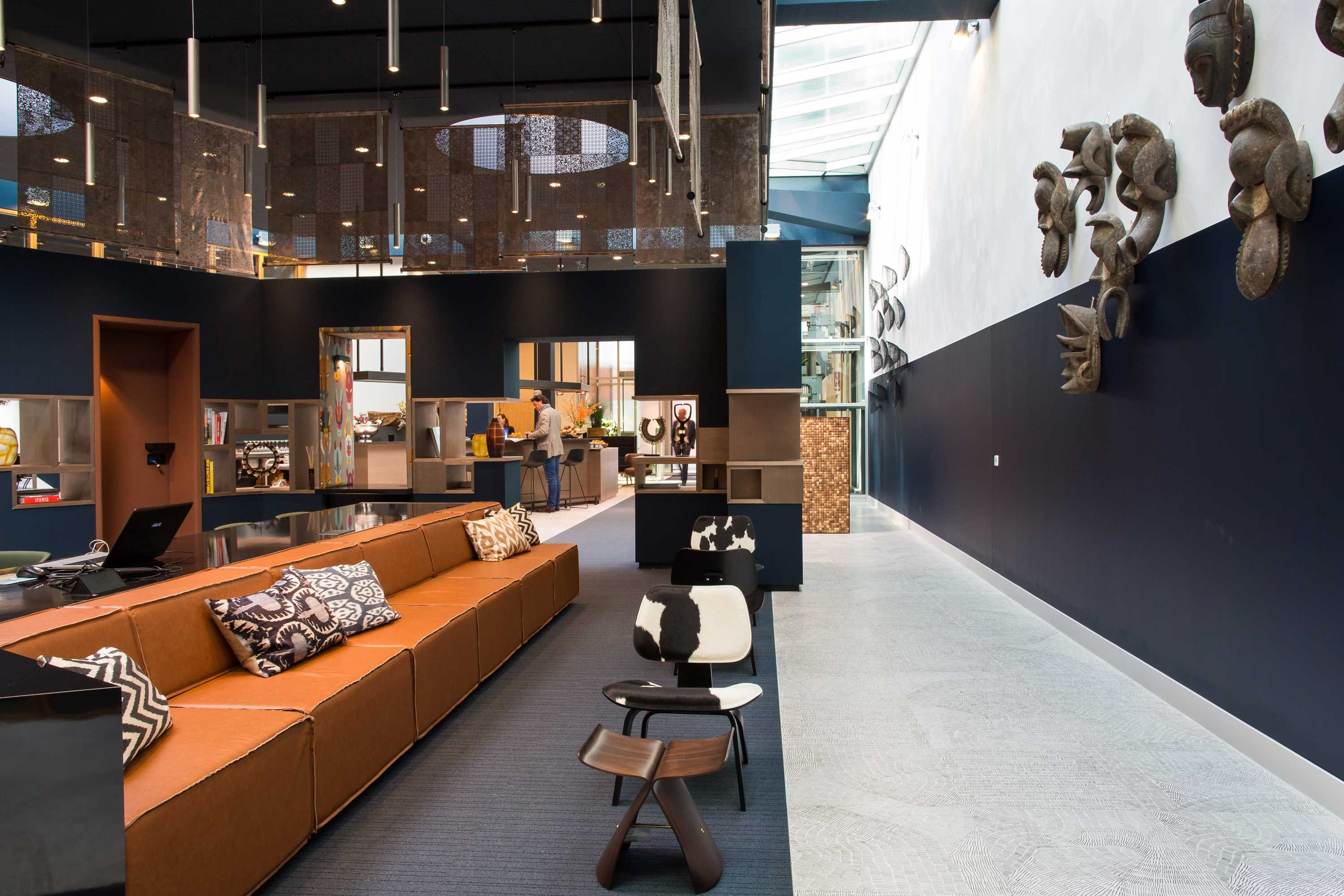 New Facebook Offices Designed In Industrial Style With Vintage Charm