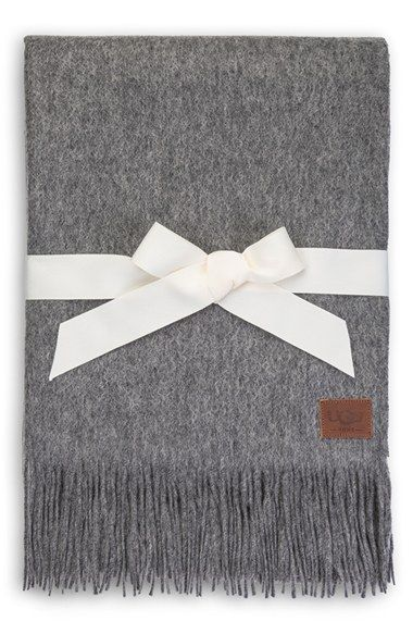 Ugg Throw Blanket Captivating Ugg® Australia 'glacier' Wool Throw Available At #nordstrom  Ugg Review