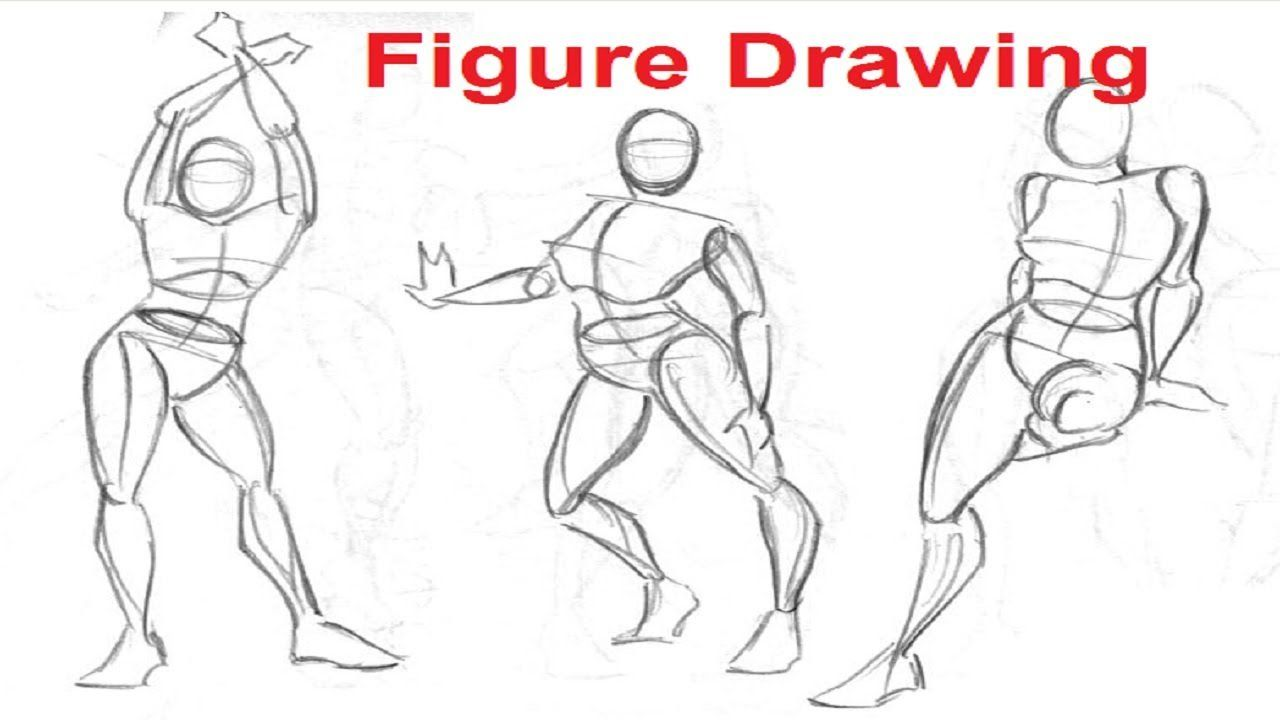 Figure Drawing Lessons 1 8 Secret To Drawing The Human Figure Figure Drawing Figure Drawing Tutorial Figure Drawing Models