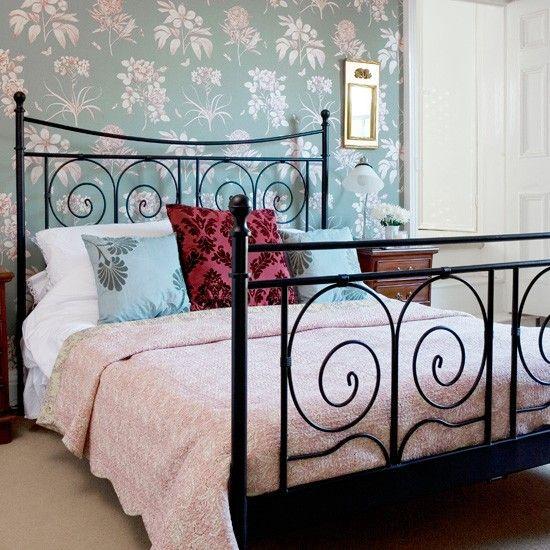 hang a feature wallpaper. Interior Design Ideas. Home Design Ideas