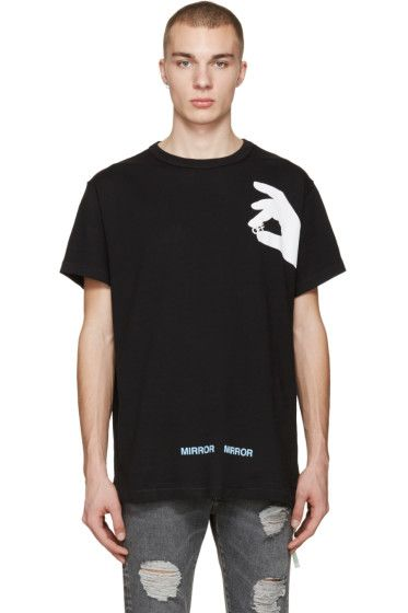 76fcb3c3606c6 Off-White - Black Hand 'Off' T-Shirt | Clothes | Off white, Mens ...