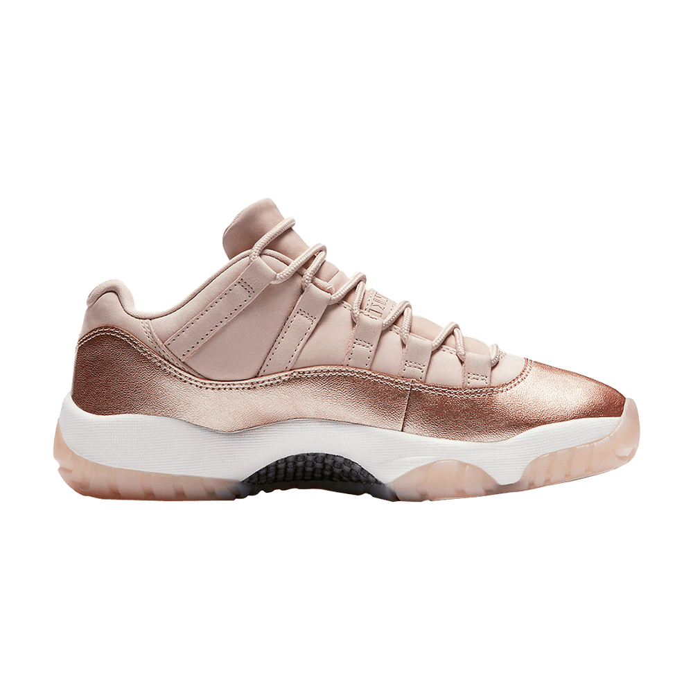 nike air jordan 11 low rose gold