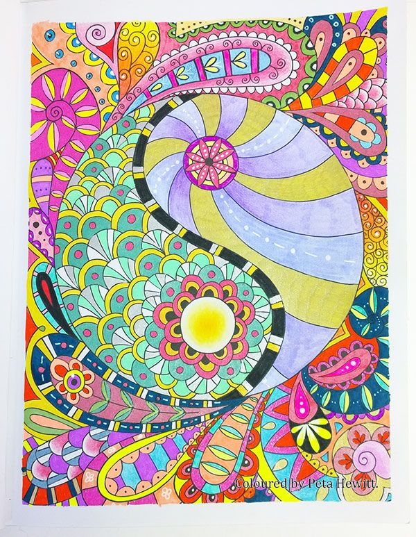 The Art Of Mindfulness Peace And Calm Colouring By Michael O Mara