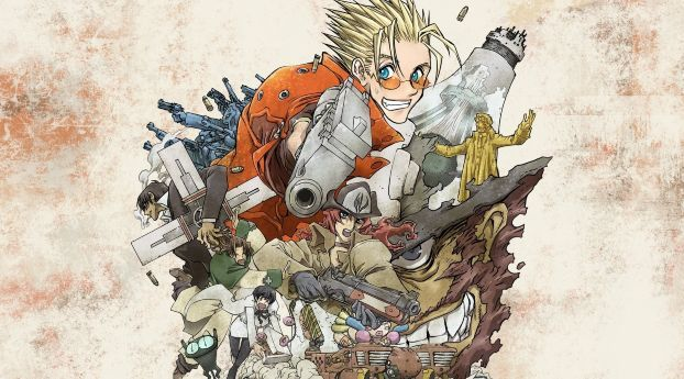 Trigun Badlands Rumble Wolfwood Manga Wallpaper Hd Anime 4k Wallpapers Images Photos And Background Anime Anime Wallpaper Trigun