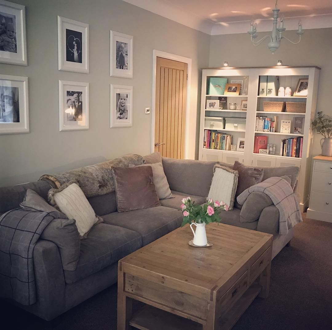Cosy Living Room Colours: Dulux Gooseberry Fool 5 In 2019