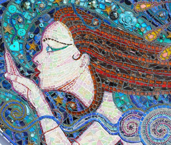 M s de 25 ideas incre bles sobre arte de la pared de - Mosaico de madera ...