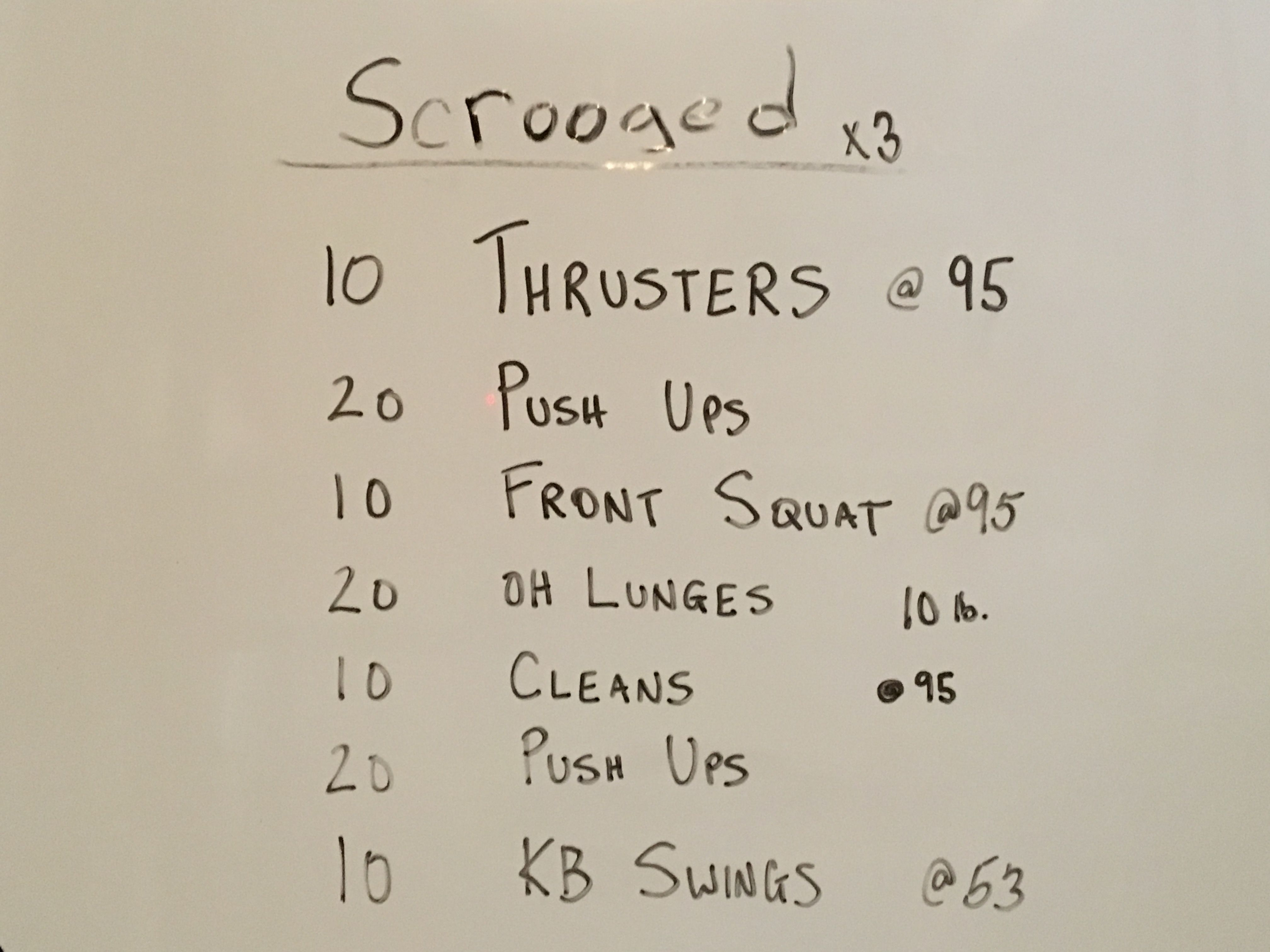 Christmas Eve blaster. From the Garage...   Crossfit   Pinterest ...