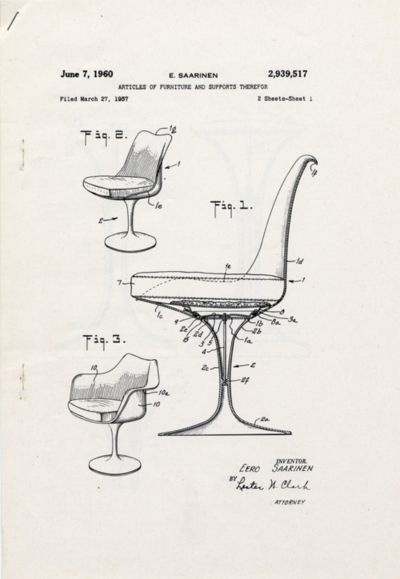 Chaises Chair Eero Saarinen Via Tumblr Infographics