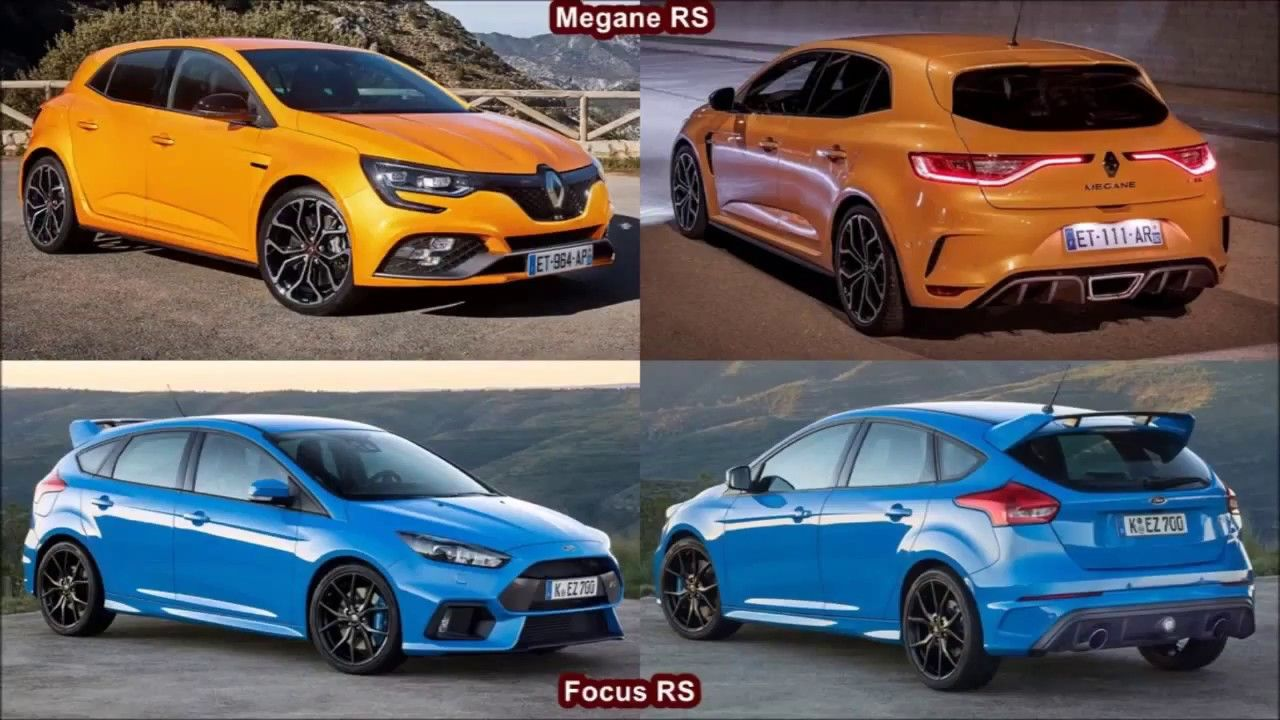 Pin On 2018 Renault Megane Rs Vs 2018 Ford Focus Rs