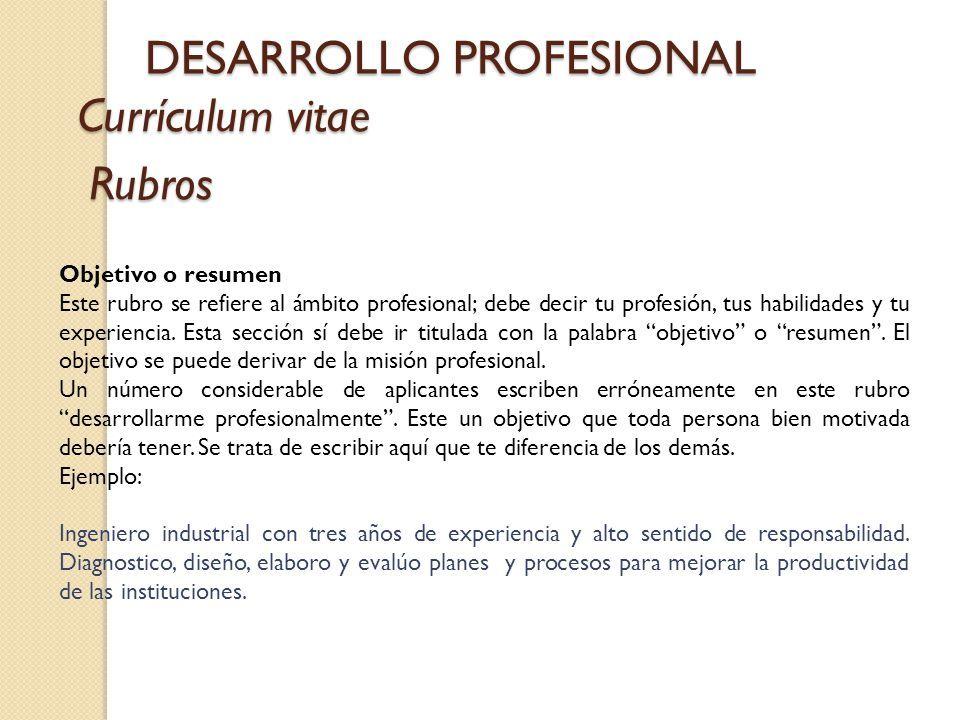 Modelo De Curriculum Vitae Objetivos Modelo De Curriculum Vitae In 2020 Curriculum Vitae Curriculum Desktop Pictures
