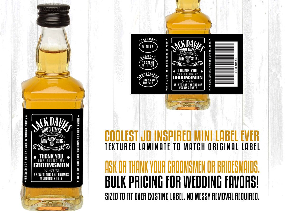 jack daniels wedding favors - Wedding Decor Ideas