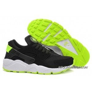 Nike Air Huarache Black Volt Mens Shoes 318429 030 New Release
