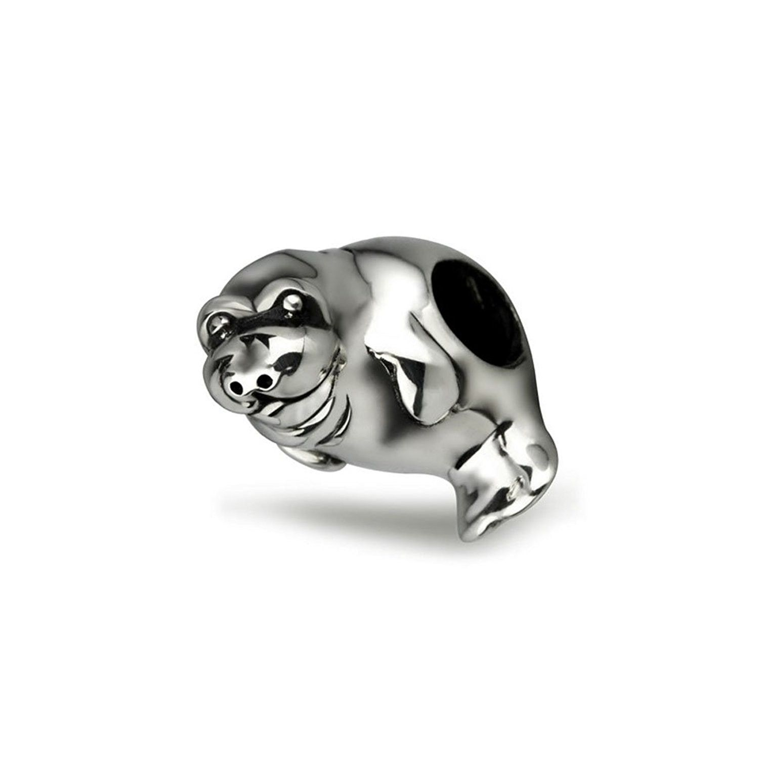 Sterling Silver Manatee Charm
