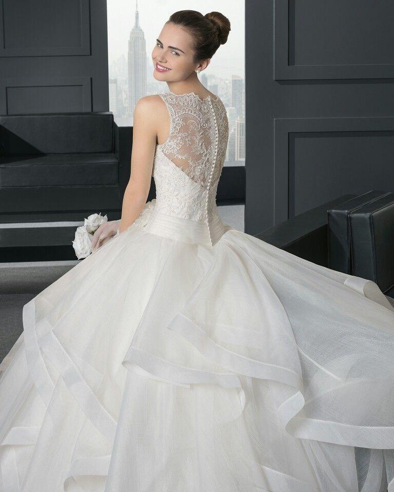 espalda encaje mas botones | vestidos | wedding, wedding dresses y