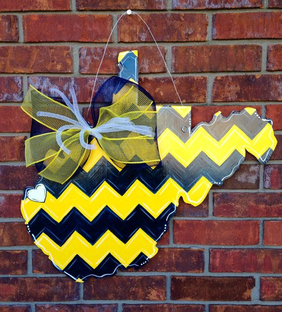 State of West Virginia Door Hanger by PaintedPriss on Etsy $40.00 & State of West Virginia Door Hanger by PaintedPriss on Etsy $40.00 ...
