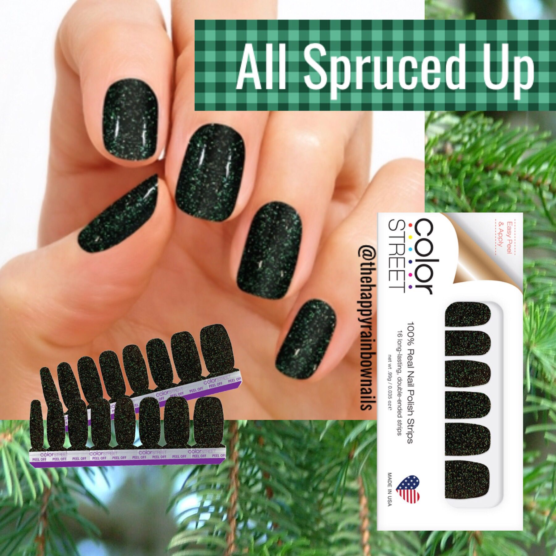 Christmas Diy Nail Ideas And More Of Our Manicures From: What Says Christmas And The Holidays Like A Beautiful