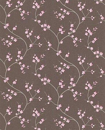 Pink And Brown Wallpaper Brown Wallpaper Pink Wallpaper Retro