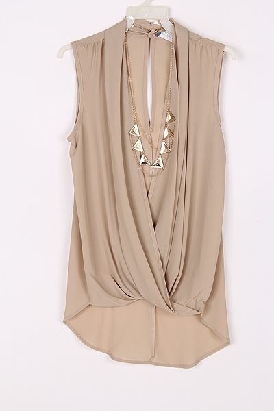 144c324bd65fa Dakota Top in Soft Mocha | Clothing and Style | Fashion, Fashion ...