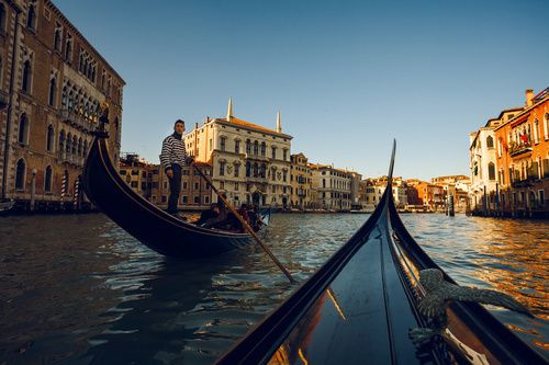 Venice, Laguna, Veneto, Gondola,
